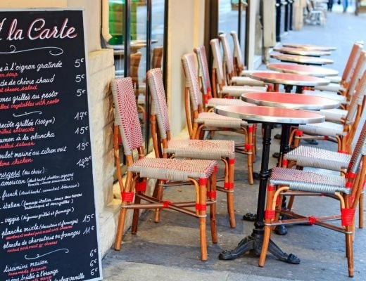 Places to Eat in Paris France