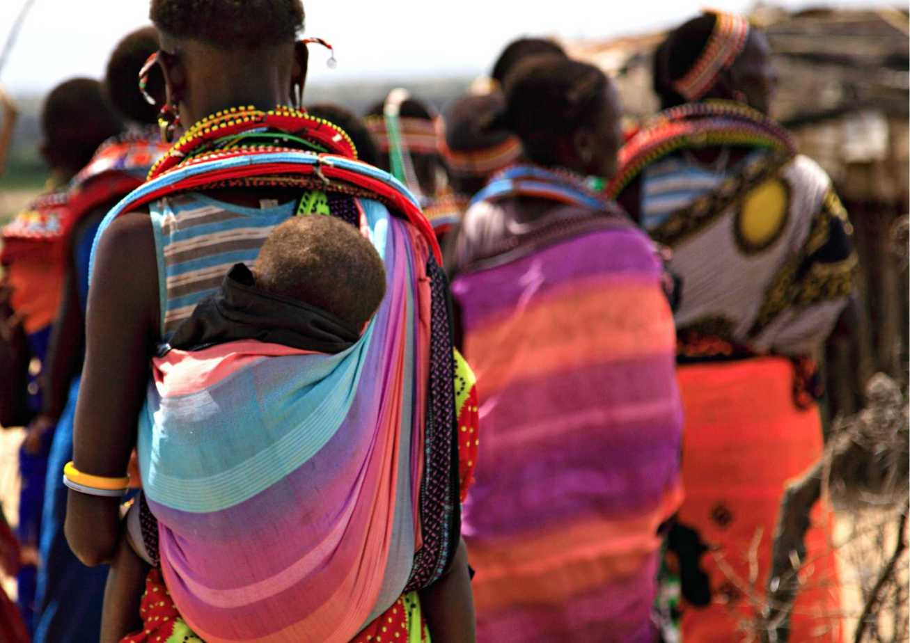 Women and Children African Tribe Traditions